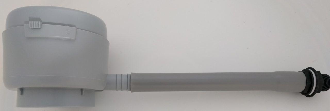 Vulautomaat met bladvanger 70 - 100 mm
