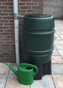 168 liter regenton Harcostar