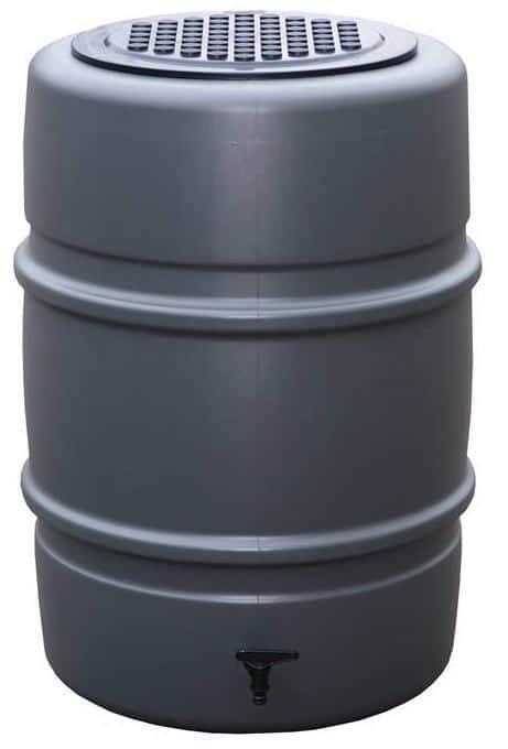 170 liter regenton grijs Storm