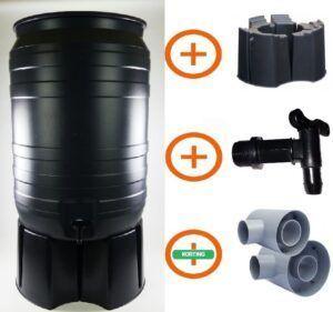 180 liter regenton actiepakket Smart