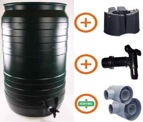 210 liter regenton actiepakket Smart