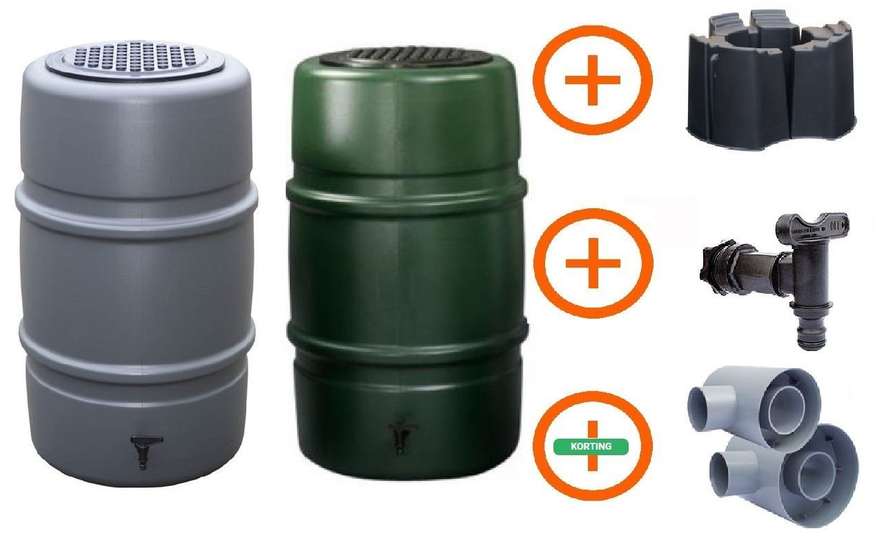225 liter regenton Actiepakket Big Storm