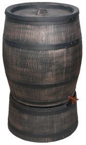 240 liter houtlook regenton