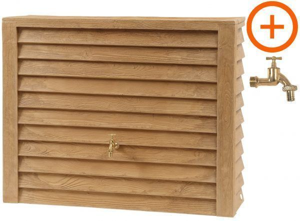 350 liter Woodwall light met kraan