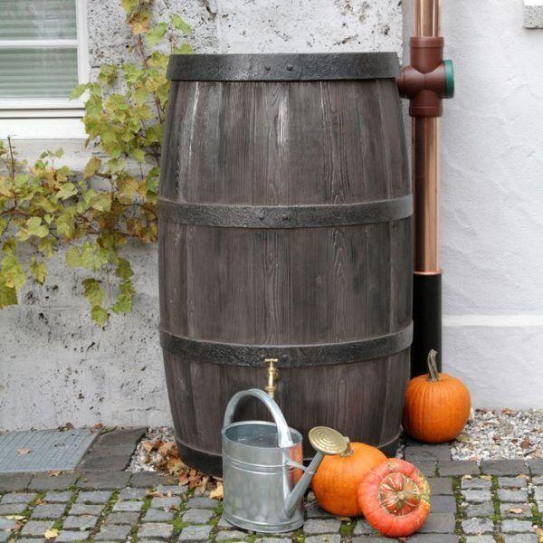 500 liter houtlook regenton boergondie