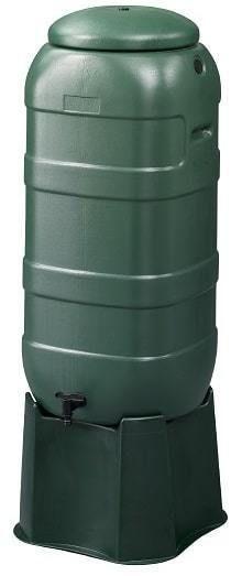 Groene 100 liter regenton Anzar