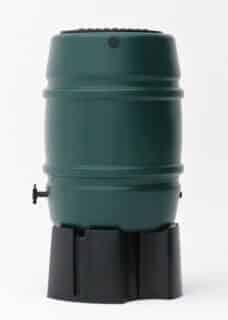 Groene kunststof regenton 170 liter Storm