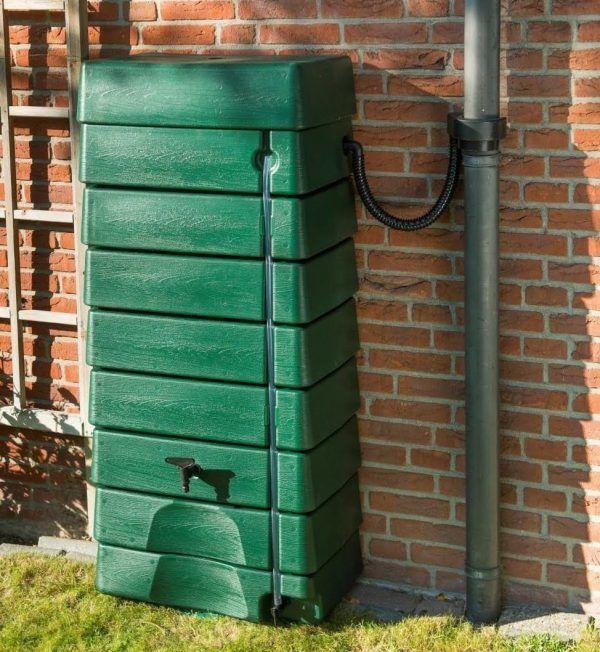 Groene muur regenton 320 liter