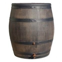 Houten regenton 240 liter