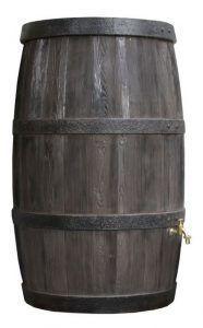 Houten regenton 500 liter boergondie