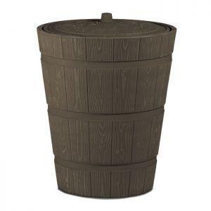 Houtlook regenton 275 liter Woodbarrel