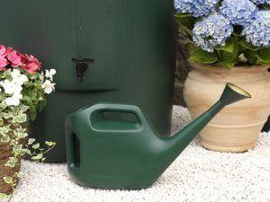 Kunststof regenton 350 liter met gieter