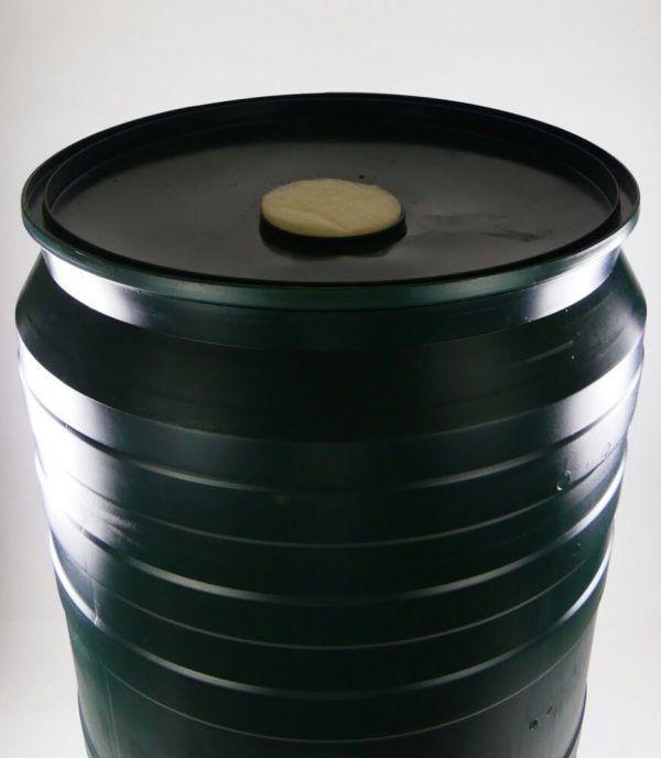 Regenton deksel met filter