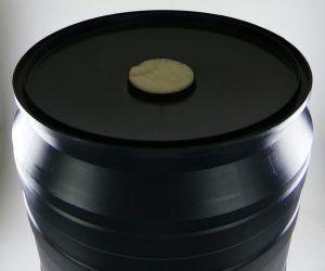 Regenton filter met deksel