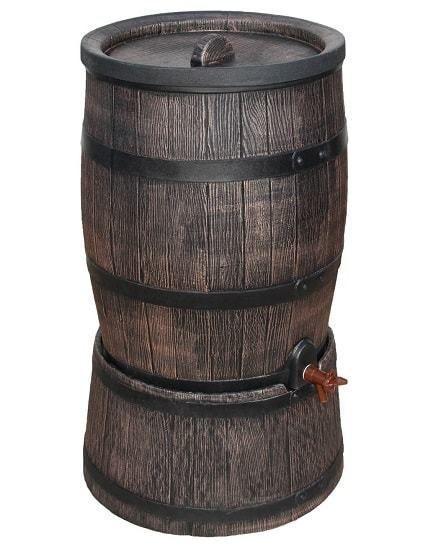 Regenton hout 120 liter