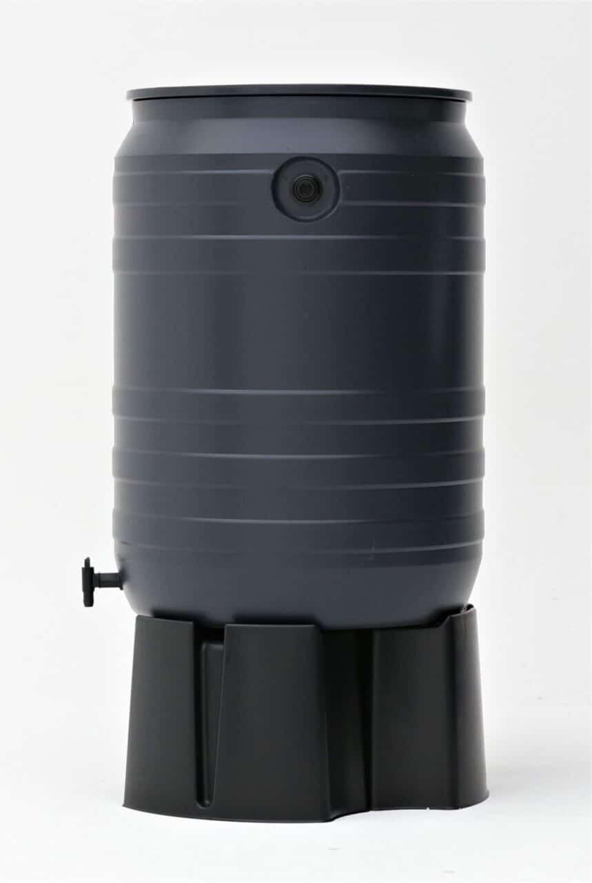 Smart regenton 180 liter zijaanzicht