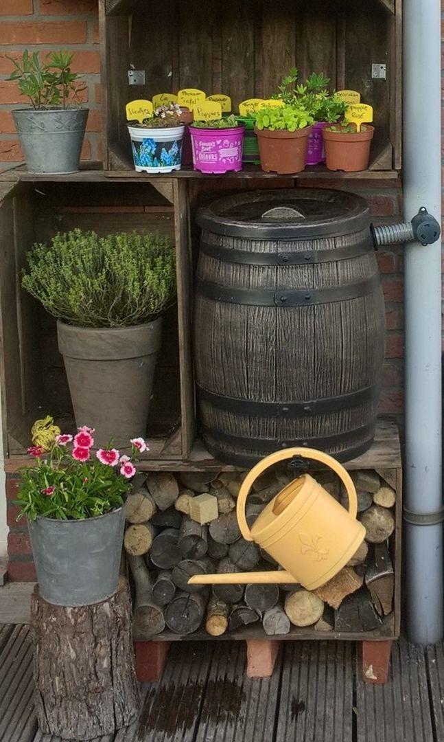 houten regenton 50 liter