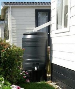 kunststof regenton 180 liter
