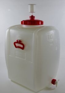 110 liter tankje met kraan
