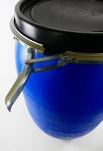 120 liter vaten met klemband