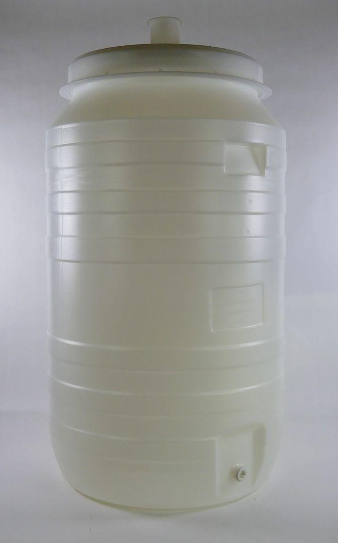 210 liter vaten met kraan