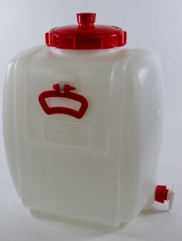 60 liter tankje met kraan