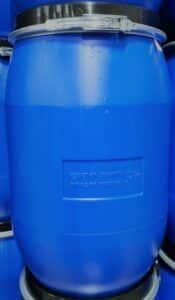 60 liter vat met klemband