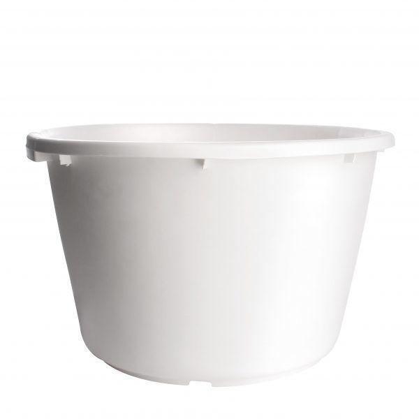 Cementkuip 65 liter wit