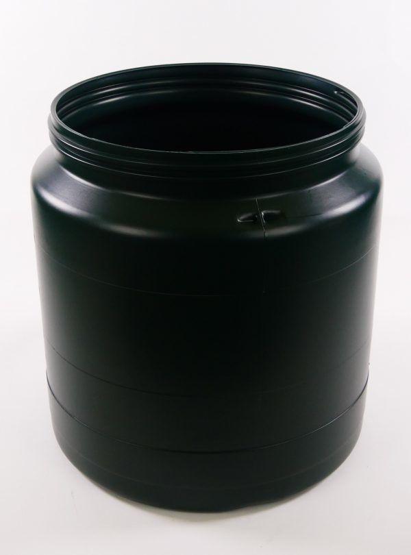 Groene 40 liter vaten