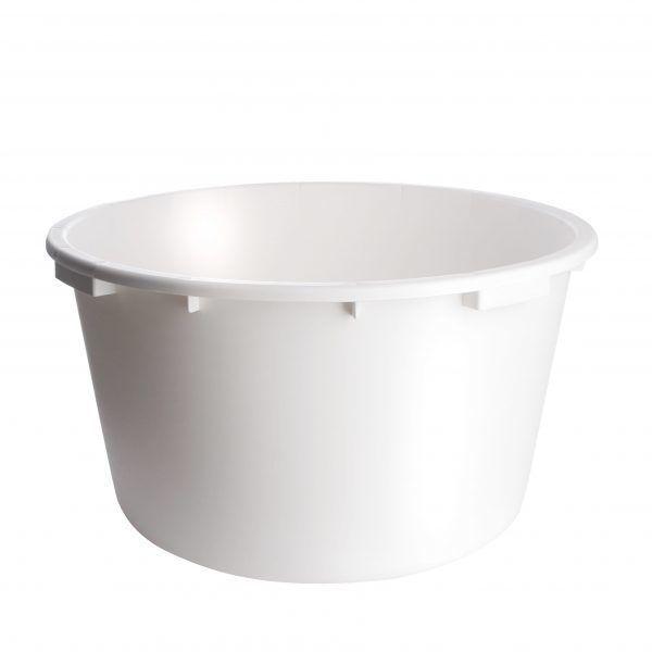 Speciekuip wit 90 liter