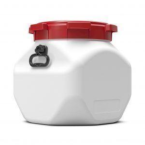 Vierkante voerton 40 liter Curtec