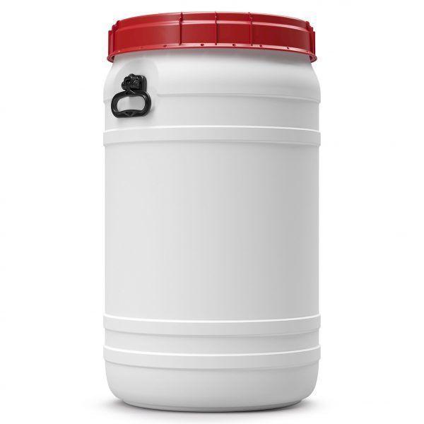 Voerton 110 liter wit