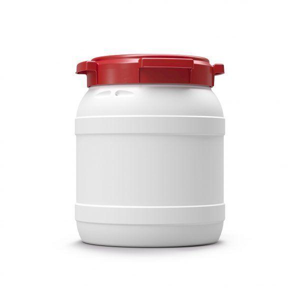 Voerton 15 liter wit