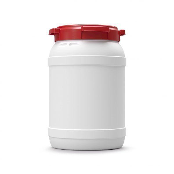 Voerton 20 liter wit