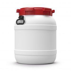 Voerton 55 liter wit