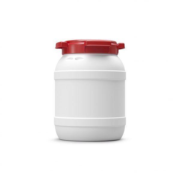 Voerton 6 liter wit