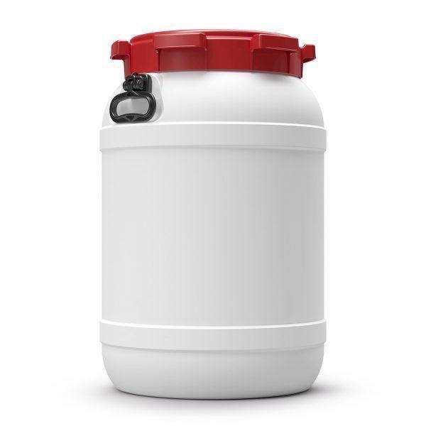 Voerton 68 liter wit