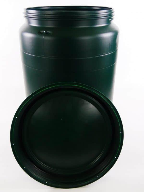 groene 60 liter vaten