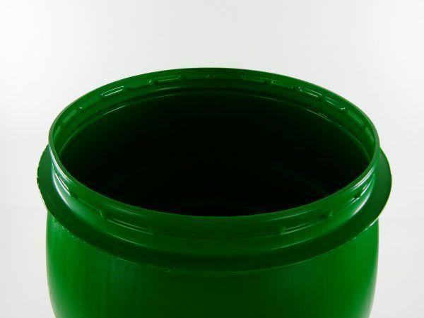 kunststof vat met klemband 60 liter