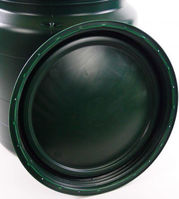 kunststof vaten 40 liter groen