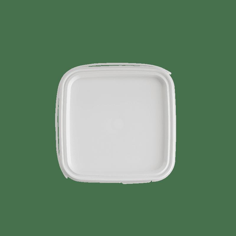 Deksel vierkante emmer 1 liter