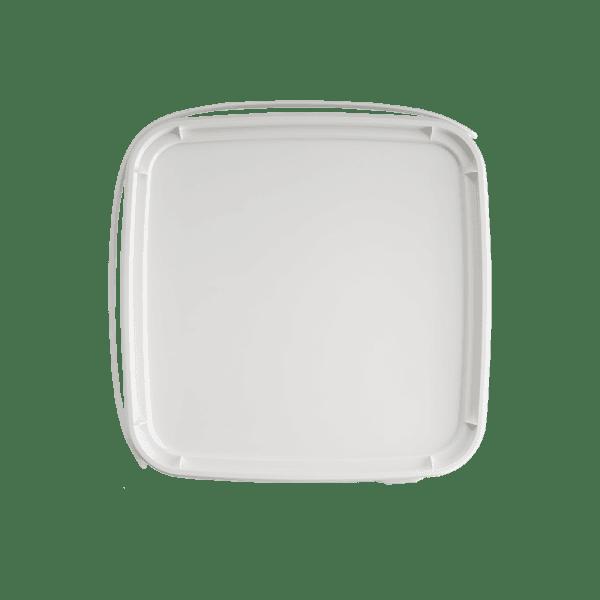 Deksel vierkante emmer 10 liter