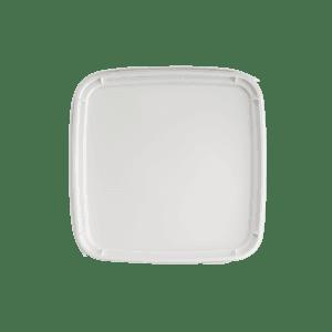Deksel vierkante emmer 5 liter