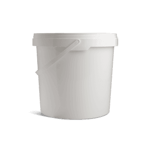 Emmers met deksel 10 liter