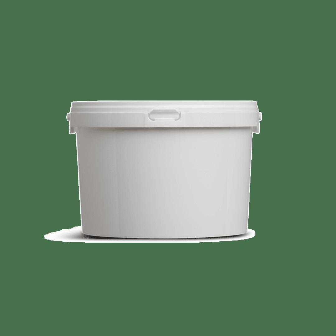 Kleine emmertjes plastic 2,5 liter