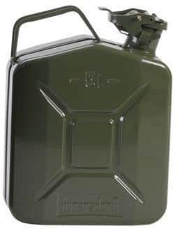 Metalen jerrycan 5 liter