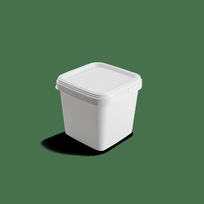 Vierkante emmer 1 liter