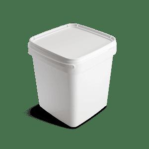 Vierkante emmer 10 liter