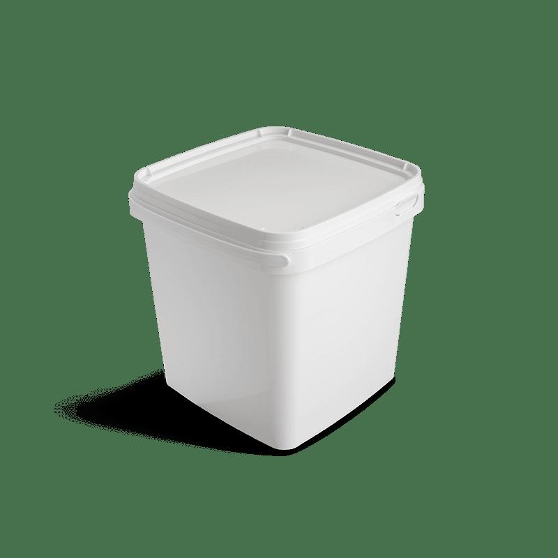 Vierkante emmer 5 liter
