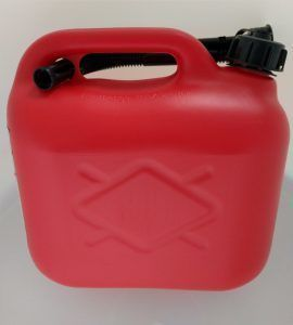 brandstof jerrycan 5 liter